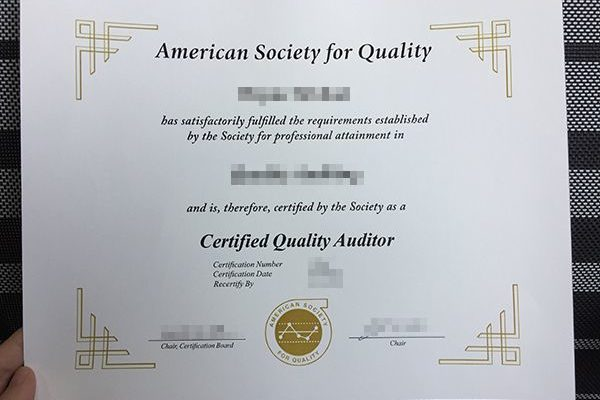 ASQ fake diploma Easy ASQ fake diploma – Even a Newbie Can Do It American Society for Quality 600x400